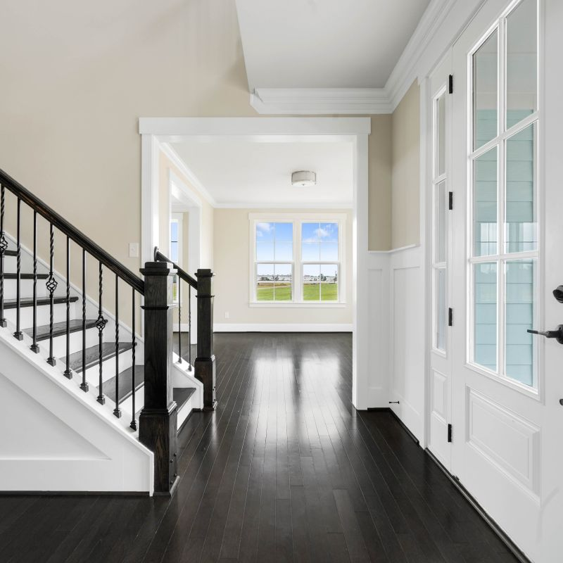 Two-Story Entry Way